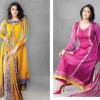 Sitara Textiles Women Jhilmil Lawn Dresses 2014