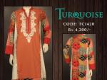 Turquoise Summer Women  Dresses 2014
