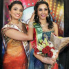 Monica Gill wins Miss India Title 2014