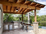 Outdoor Kitchen Decoration Ideas In Summer Season