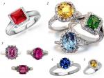 Trends of Women Gem Stones Rings