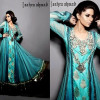 Trends of Anarkali Frocks 2014 For Women on Eid Day