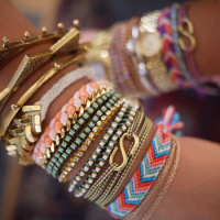 Designs of Girls Party Arm Bracelets 2014