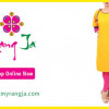 Rang Ja Mid Summer Dresses 2014 For Girls