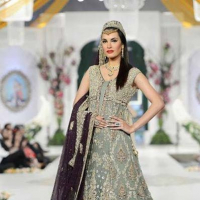 Wedding Anarkali Frocks Walima Brides 2014