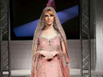 Trend of Pink Walima Pakistani Brides Dresses 2014