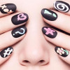 Turn Nails Into Chalkboard Elegant Manicure