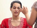 Bridal Makeup for a Wedding Reception