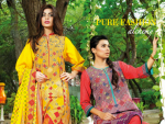 House of Ittehad German Linen Winter Dresses 2014-2015