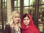 Hollywood actress Reese Witherspoon called Malala  Yousafzai her role model