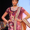 Venice Williams Walked on Ramp in Saree