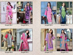 Jubilee Cloth Mills Winter Dresses 2014 Volume 5 For Women