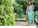 Shariq Textiles Mavi Designer Winter Dresses 2014