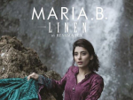 Maria B Winter Linen Dresses 2014 For Women