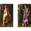 Maria B Women Winter Shawl Dresses 2014