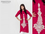 Pinkstich Winter Dresses 2014-15 For Girls