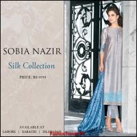 Sobia Nazir Women Silk Dresses 2014-15
