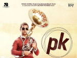 "Aamir Khan Film ""PK"" 2014 releases today in Cinema Houses"