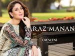 Crescent Lawn Dresses 2015 By Faraz Manan