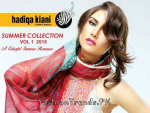 Hadiqa Kiani Latest Summer Dresses Collection 2015 | Vol. 1