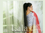 Lala Textiles Display La Femme Summer Lawn Dresses 2015