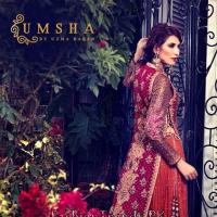 Umsha By Uzma Babar Bridal Dresses 2015 For Women