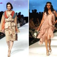 Karachi Fashion Week 2015 Model Catwalk on Ramp