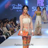 "Teena by Hina Butt ""'Suzandozi'"" at PFDC Sunsilk Fashion Week 2015"