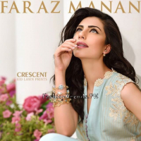 Crescent Eid Collection 2015 By Faraz Manan