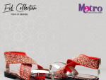 Metro Eid Footwear Collection 2015 For Women