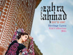 Zahra Ahmad Heritage Lawn Eid Collection 2015