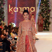 Karma Red Collection at PFDC L'Oréal Paris Bridal Week 2015
