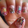 Beautiful and Cute Nail Art Designs 2015