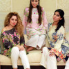 Silk Printed Kurtas Collection By Farah Talib Aziz