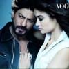 SRK Hot Photo Shoot for Vogue with SuperModel Irina Shayk