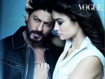 SRK Hot Photo Shoot for Vogue with SuperModel Irina Shayk
