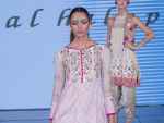 Somal Halepoto Dresses at Pakistan Fashion Week 8 London 2015