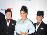 Jacqueline Fernandez Spotted at British Airways Event