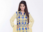 Cross Stitch Embroidered Winter Dresses Collection 2015-16