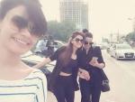Saba Qamar and Kiran Haq enjoying vacations in Dubai