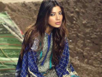 Sana Safinaz Women Winter Shawl Dresses 2016