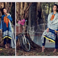 Lala Textile Women Vintage Shawls Collection 2016