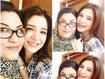 Ayesha Omar is back on the set of Bulbulay