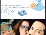 Fahad Mustafa blessed with baby boy