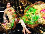 Latest clicks of Armeena Rana Khan for Nishat Linen