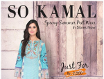 So Kamal Spring Dresses 2016 For Women