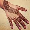 Create Flower Henna Design In Just 20 Minutes