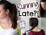 Watch: Running Late Hairstyles