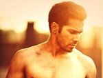 Varun Dhawan Shirtless 2016