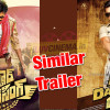 Trailer of 'Sardaar Gabbar Singh' Same to 'Dabangg 2'